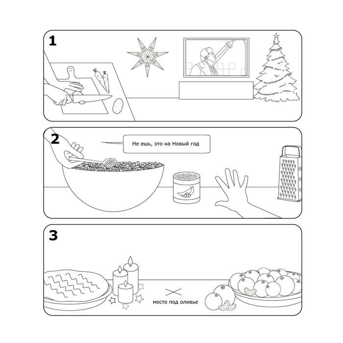 Инструкция по сборке оливье от Икеа Оливье, ИКЕА, Длиннопост, Юмор, Инструкция