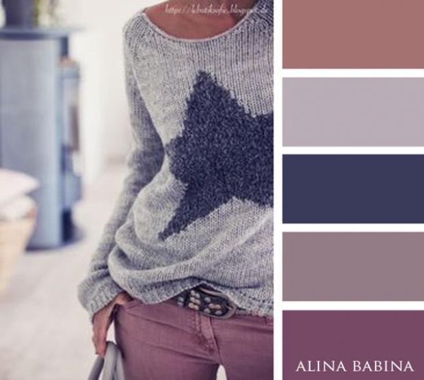 20 невероятных цветовых сочетаний для осеннего гардероба. Уютно и тепло!