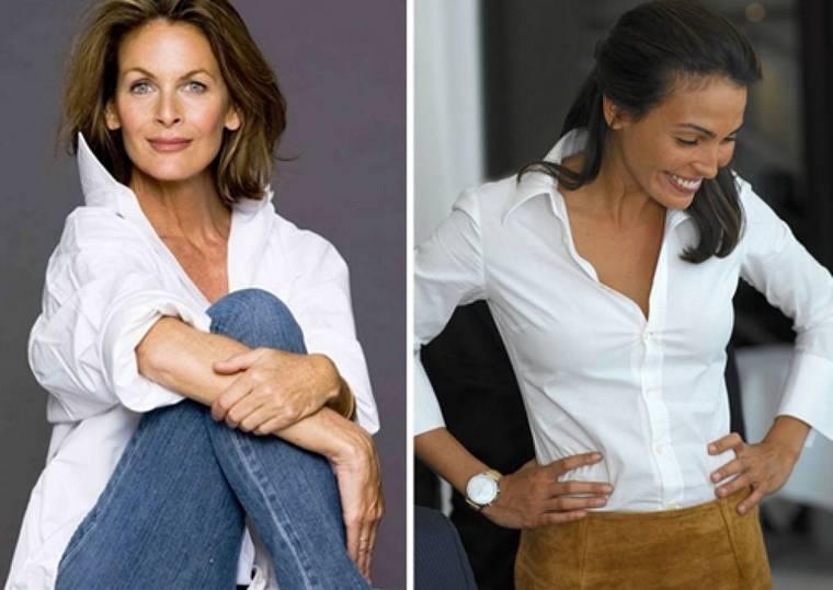 Модели блузок для женщин от 50 лет и старше