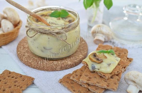 Сыр из творога с грибами в домашних условиях рецепт
