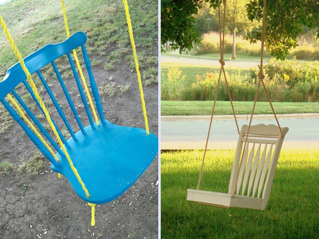 NewPix.ru - Идеи использования старых стульев в дизайне вашего дома и сада