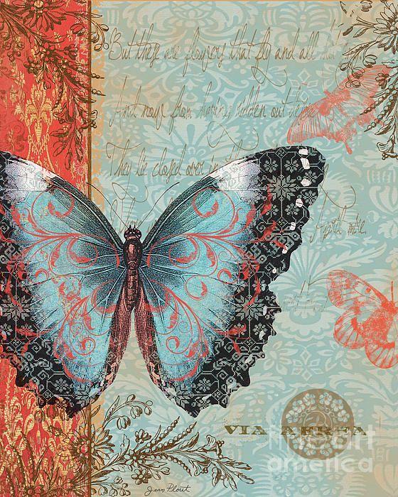 murka7: Картинки для декупажа - бабочки