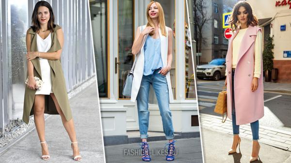 Носите жилет с душой: 10 стильных вариантов на сентябрь и октябрь