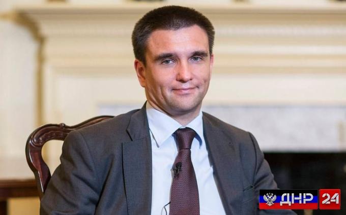 """Климкин озвучил пункты из """"тайного"""" плана Запада по Донбассу"""