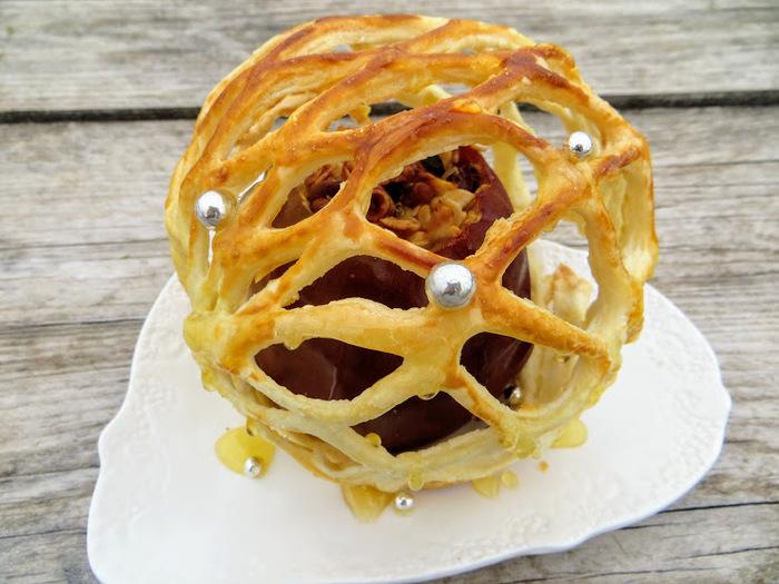 Запеченные яблоки.Это просто космос какой-то! Еда, Вкусно, Яблочный десерт, Рецепт, Готовка, Длиннопост, Видео рецепт, Другая кухня, Слоеное тесто, Видео