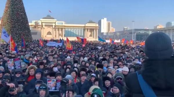 Монголия, как Украина, тольк…