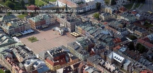 Замосць - город-крепость в восточной Польше