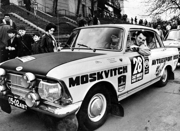 Как советский Москвич 412 стал легендой автомобильных гонок: 4 лучших выступления на международных ралли-рейдах