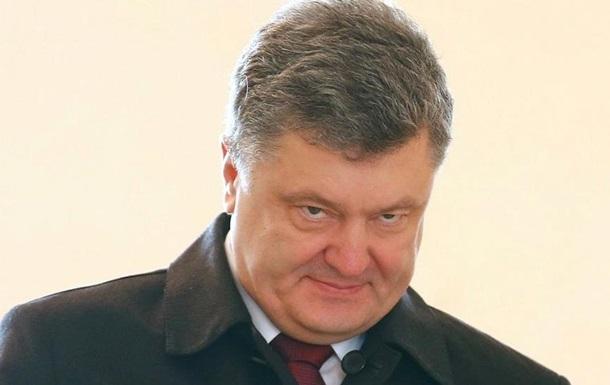 Порошенко: Украина не дала электричество Крыму из-за Путина