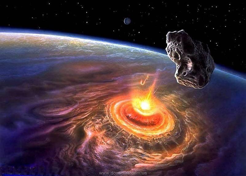 Метеорит земля космос