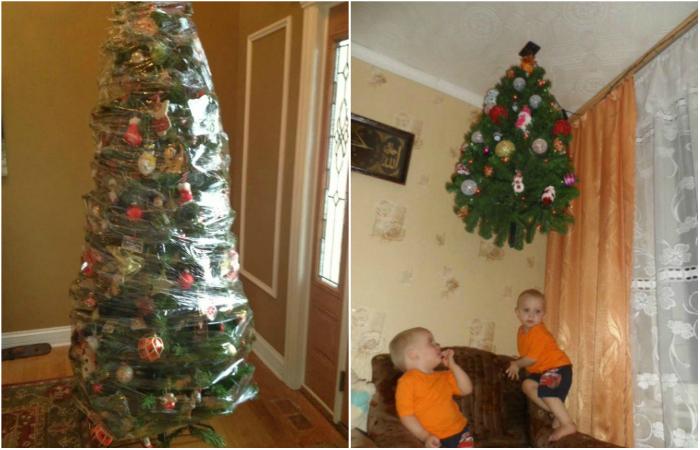 Как готовятся к Новому году семьи с маленькими детьми