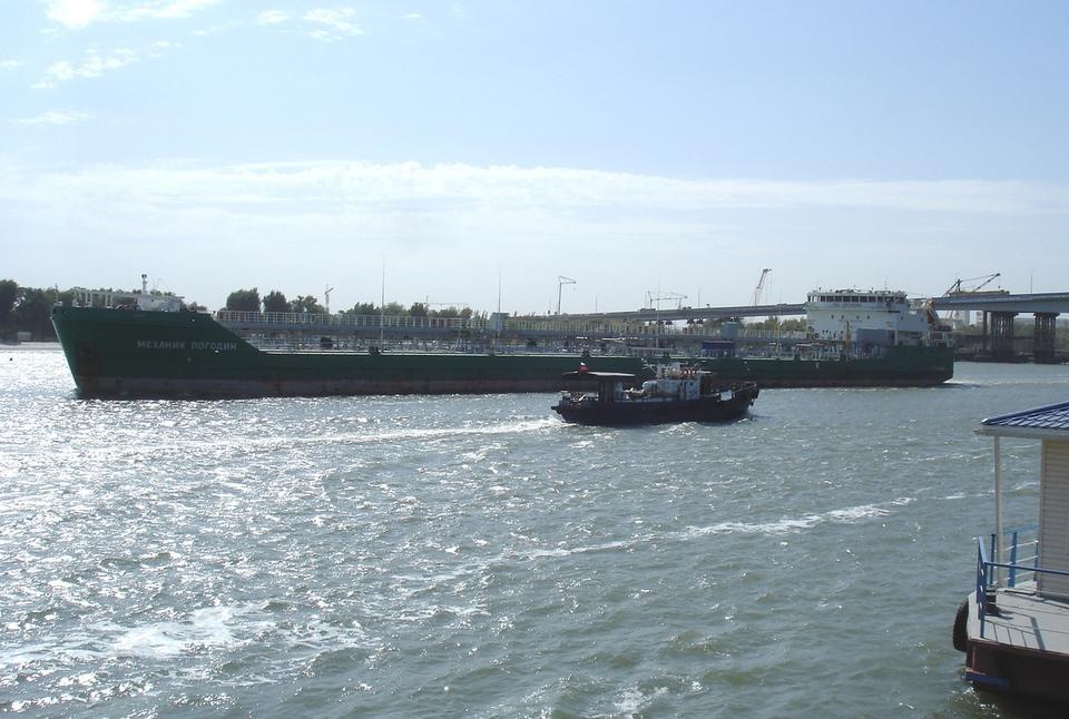 Экипаж танкера «Механик Пого…