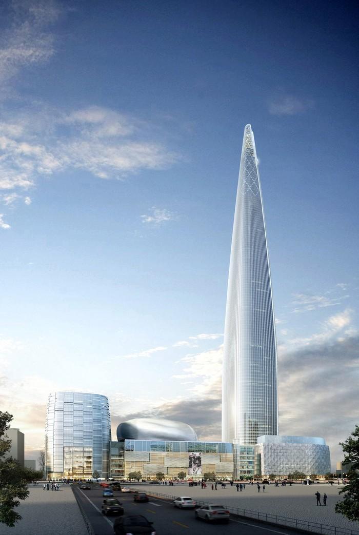 Удивительное. 10 безумных архитектурных сооружений (20 фото)