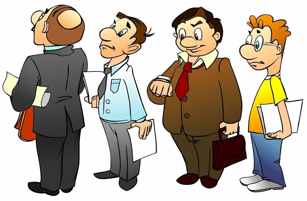 6 типов людей в очереди. А к какому отнесешь себя ты?