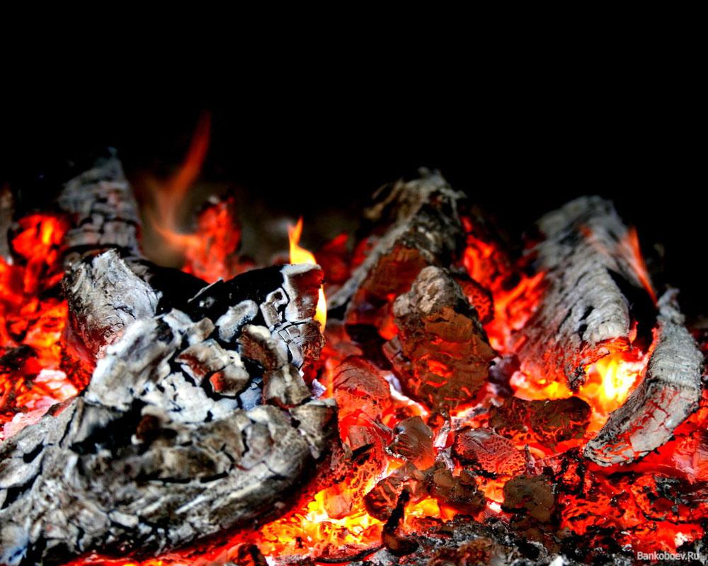 Чем посыпают угли для жарки шашлыка на Кавказе