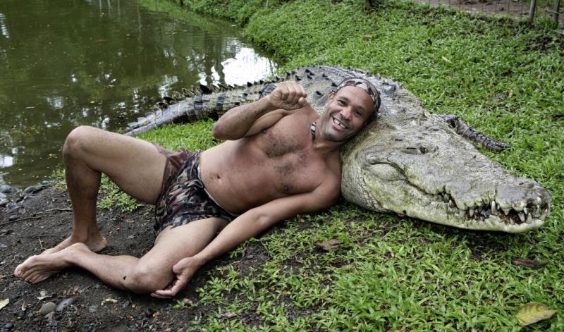 Dzhilberto Shedon i krokodil Pocho 1