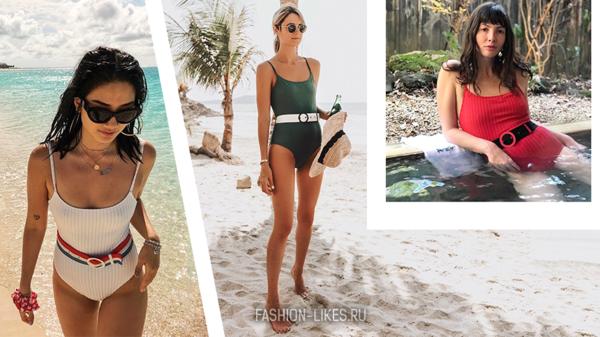 Пояс на купальнике — новый тренд этого лета: 11 доказательств того, что это безумно стильно