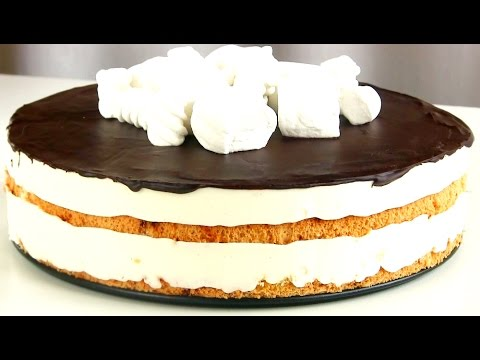 Нереально вкусный торт «Птичье молоко»