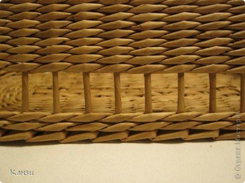 19749028c6ff Корзинки из газет с вышивкой лентами. Мастер класс