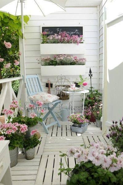 Уютные балконы