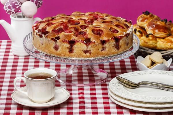 Как приготовить пирог с ягод…