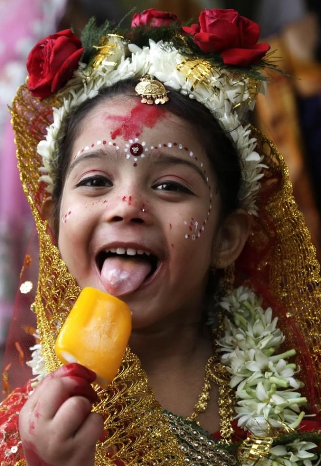 Индуистский фестиваль Рам Навами в Индии