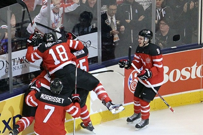 Комсомольская ПРАВДА: Сборная Канады стала чемпионом мира по хоккею среди молодежи, обыграв Россию 5:4