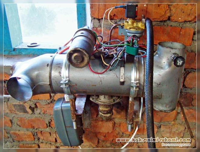 Печка для гаража и теплицы своими руками – фото и схема
