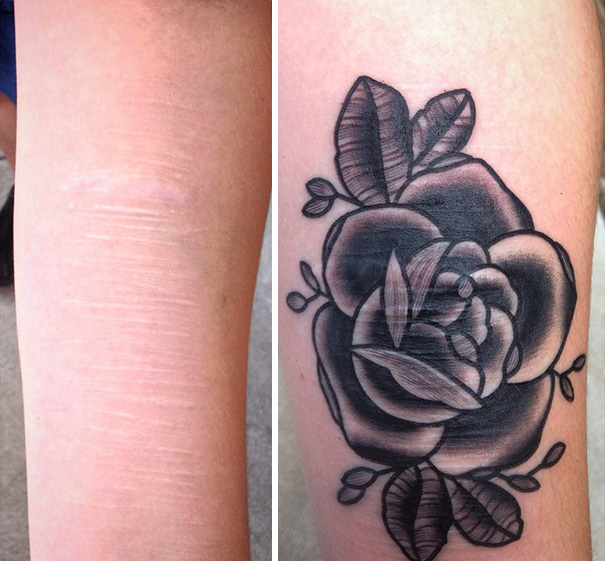 Tattoo Artist Does Free Tattoos For Survivors Of Domestic Violence, Human Trafficking Or Self-Harm
