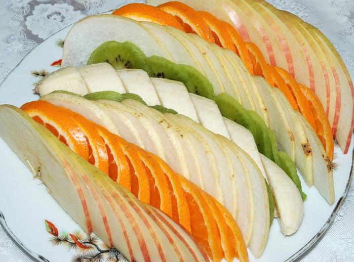 может как красиво нарезать фрукты фото любом случае комбинированное