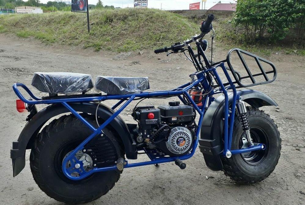 Внедорожный мотоцикл из Ижевска для деревни