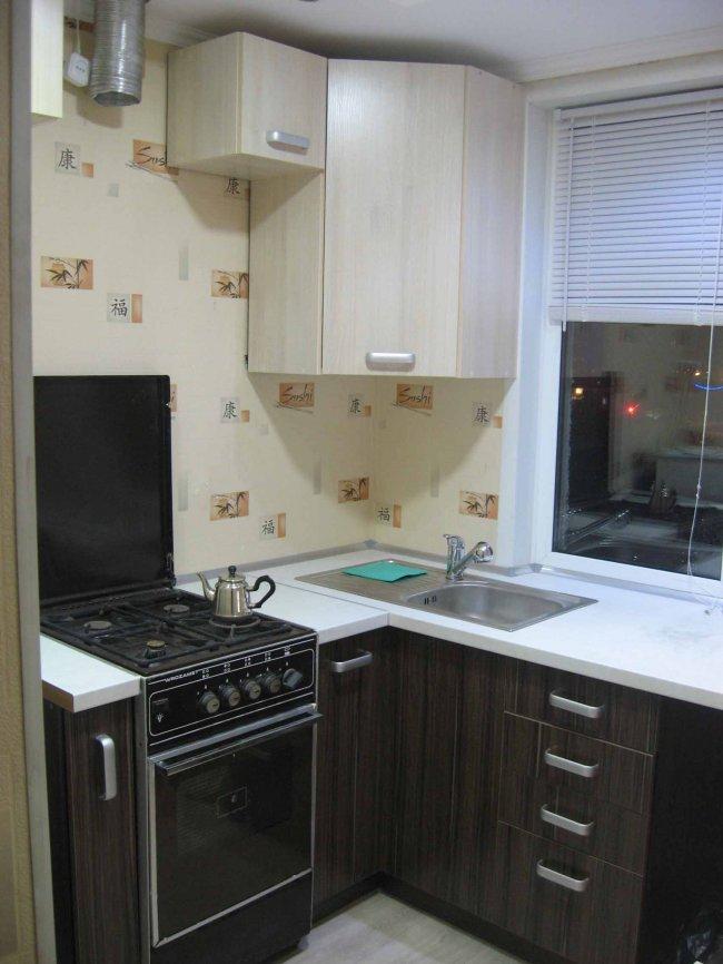 Ремонт кухни 6 кв.м своими руками