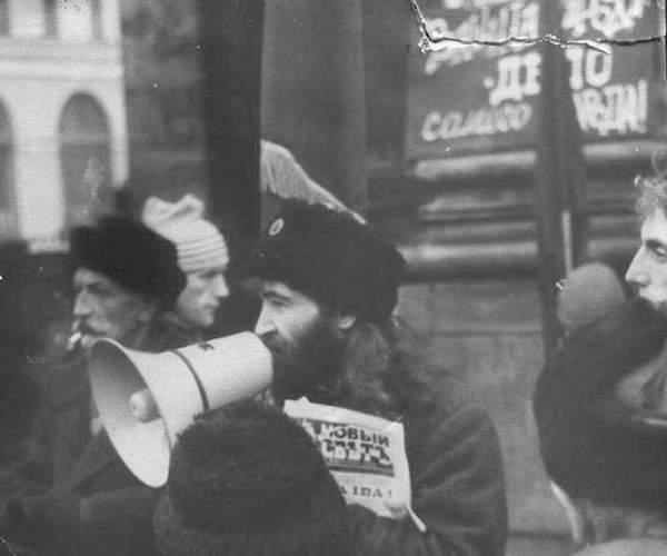 Фотохроника акций питерских анархистов (1988-1993гг.)