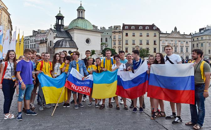 Водка, сало, колбаса: Чем русские отличаются от украинцев