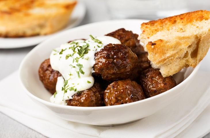 Фрикадельки по-гречески: невероятно вкусно!