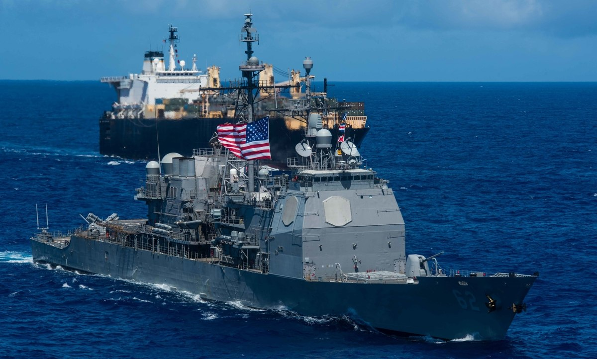 ВМС США транспортному флоту: в случае войны с Китаем или Россией плывите тихо, а у нас будут другие дела
