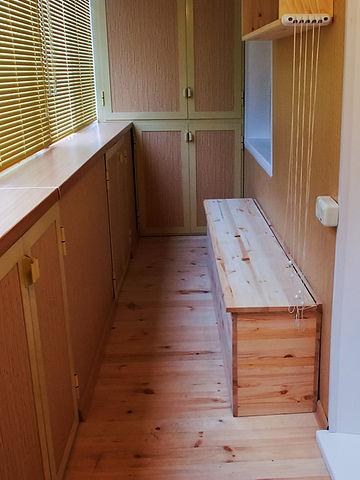 Шкаф на балконе своими руками пошагово