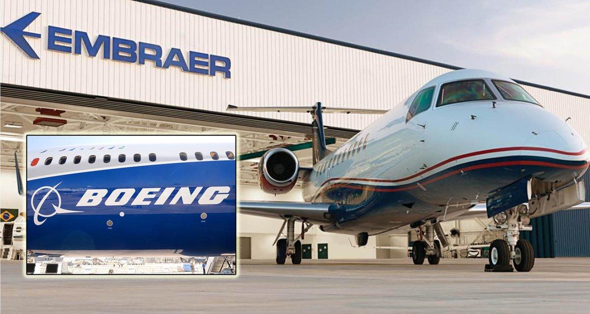 Boeing и Embraer объединятся ради космических технологий