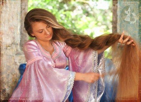 ГРЕБЕНЬ - ВОЛШЕБСТВО РАСЧЁСЫВАНИЯ ВОЛОС, фото длинные волосы, как сделать волосы длинными
