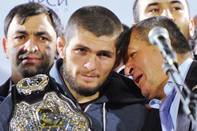 Встреча Хабиба Нурмагомедова с болельщиками в Дагестане
