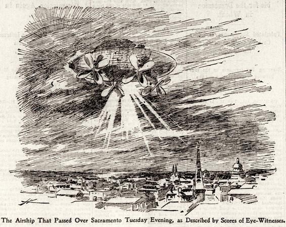НЛО-истерия позапрошлого века