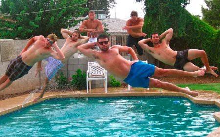 Видео Топ 5 Неудачные прыжки в бассейн