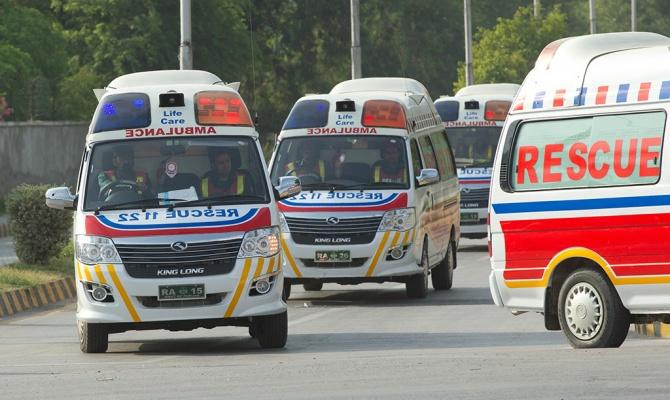 В Пакистане произошел взрыв …