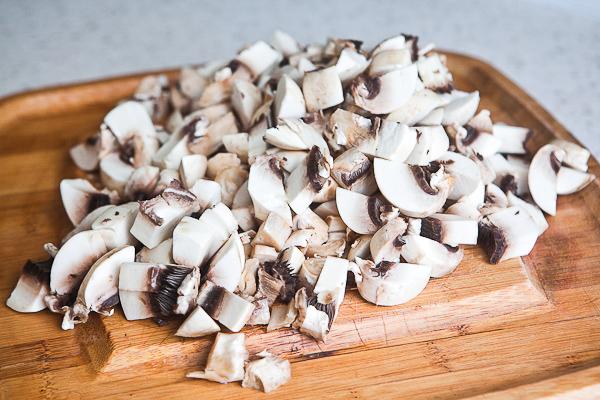 Паштет из печени с грибами