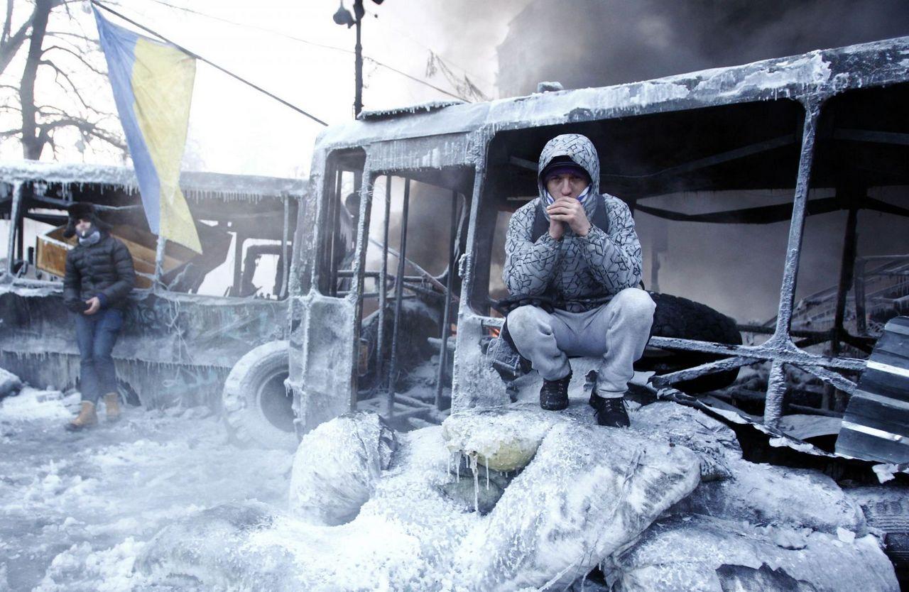 Украина. Ледниковый период. Наши дни