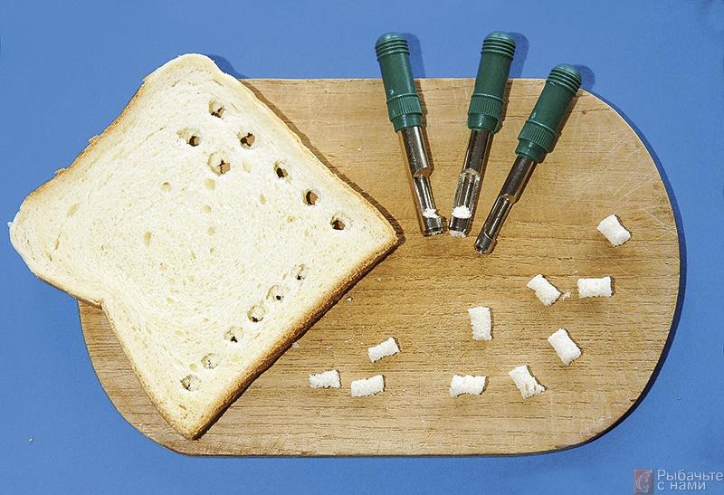 хлеб как прикормка на рыбалку