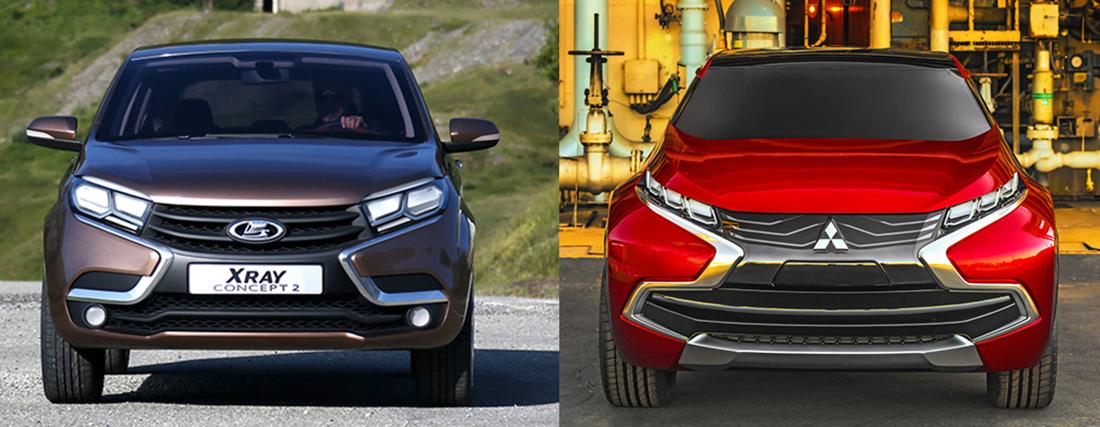 Глава АВТОВАЗа рассказал, что он думает о «копипасте» Mitsubishi