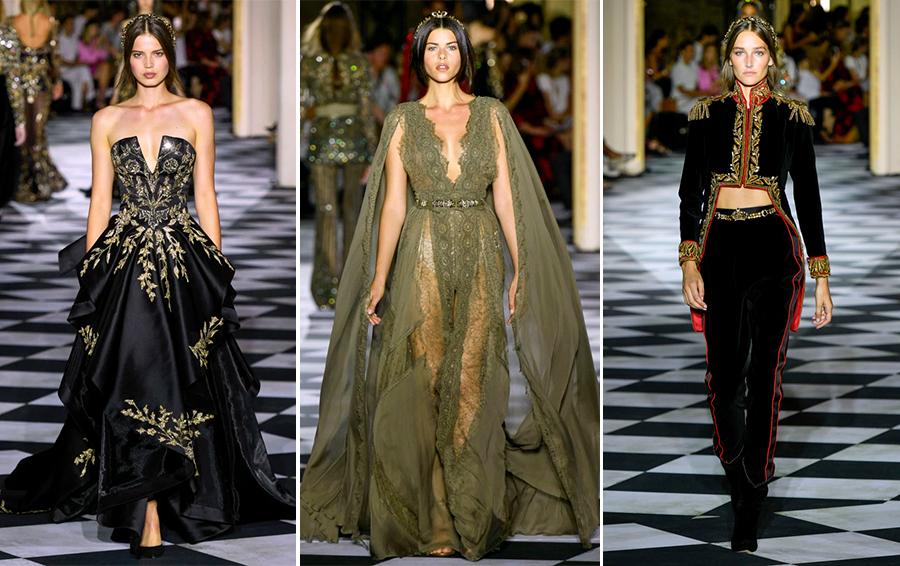 Zuhair Murad парижская неделя моды 2018