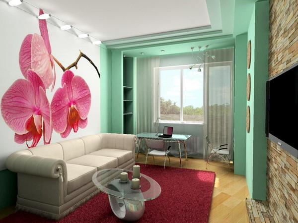 Дизайн интерьеров небольших комнат