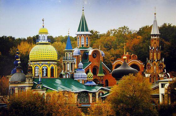 Самые красивые и необычные храмы в мире